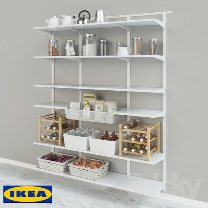 acheter etagere cuisine design ide rangement vaisselle meuble style scandinave meubles moderne designer ikea algot - Etagere Cuisine Moderne