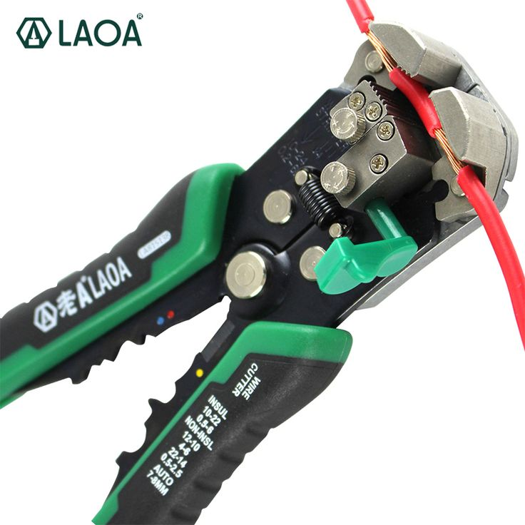buy laoa automatic wire stripper tools professional electrical cable stripping tools for #wire #stripper #tool