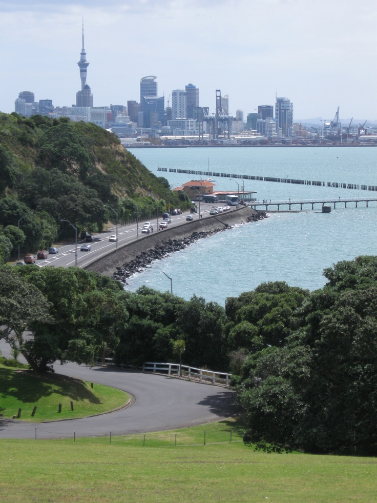 From Bastion Point, Auckland