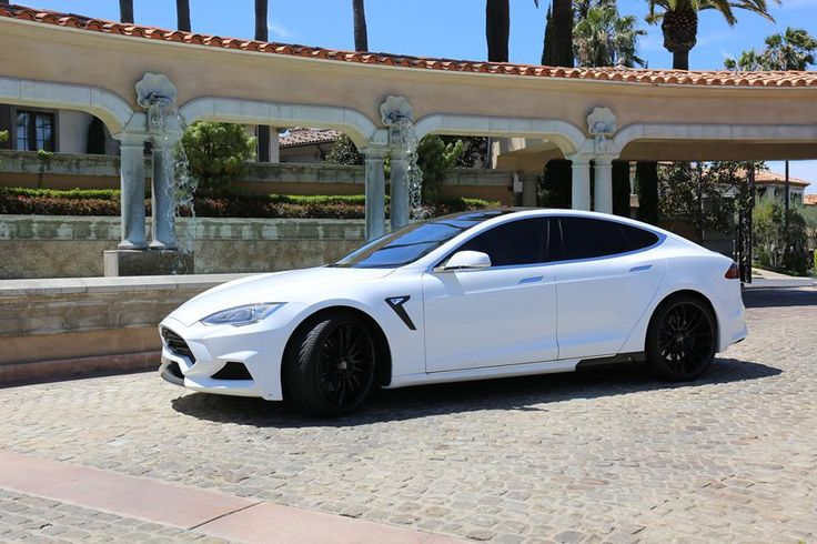 White Tesla Model S with Larte Design Elizabeta Kit Looks Bad-Boy - Photo Gallery - autoevolution