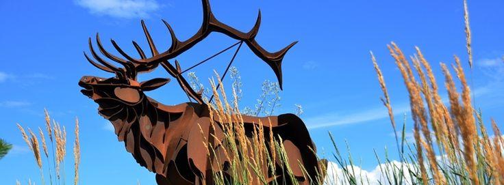 Elk Sculpture - Smoker Marchand - Art - WFN- Westbank First Nation