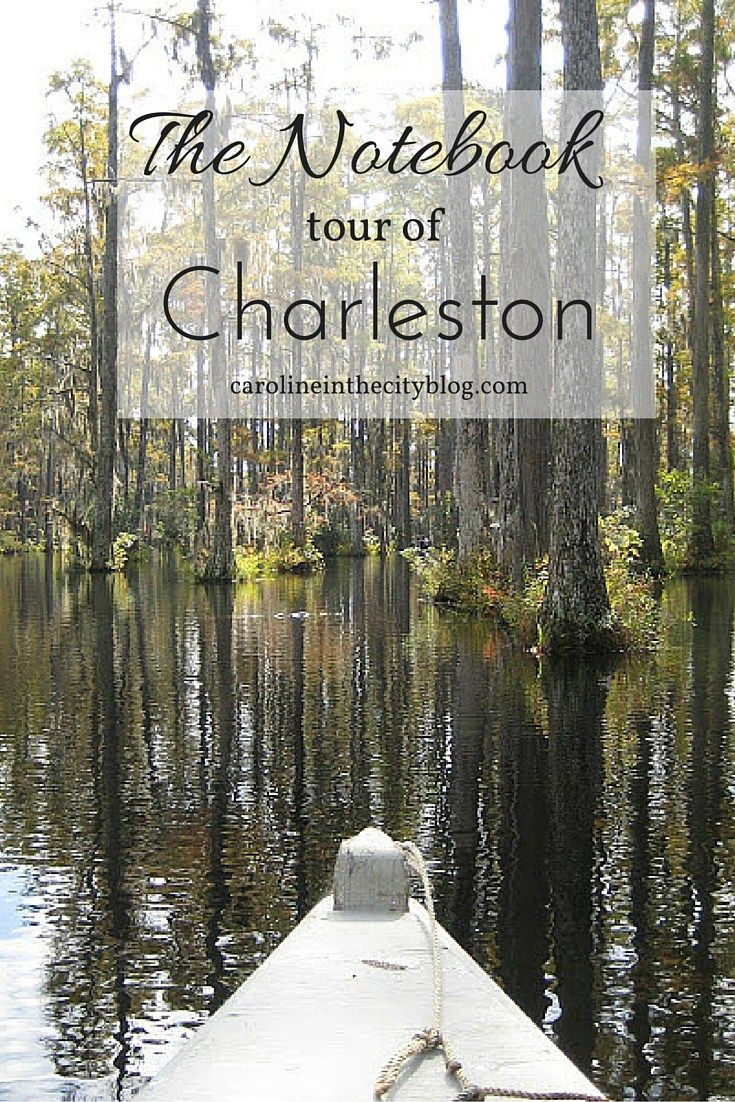 """""""The Notebook"""" Tour in Charleston, SC"""