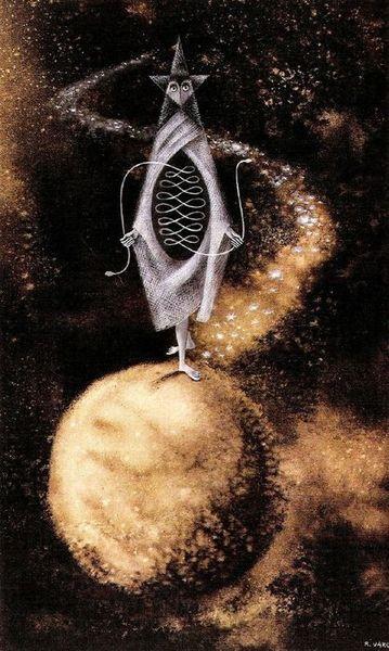 Remedios Varo, 'El otro reloj,' (The Other Timepiece)