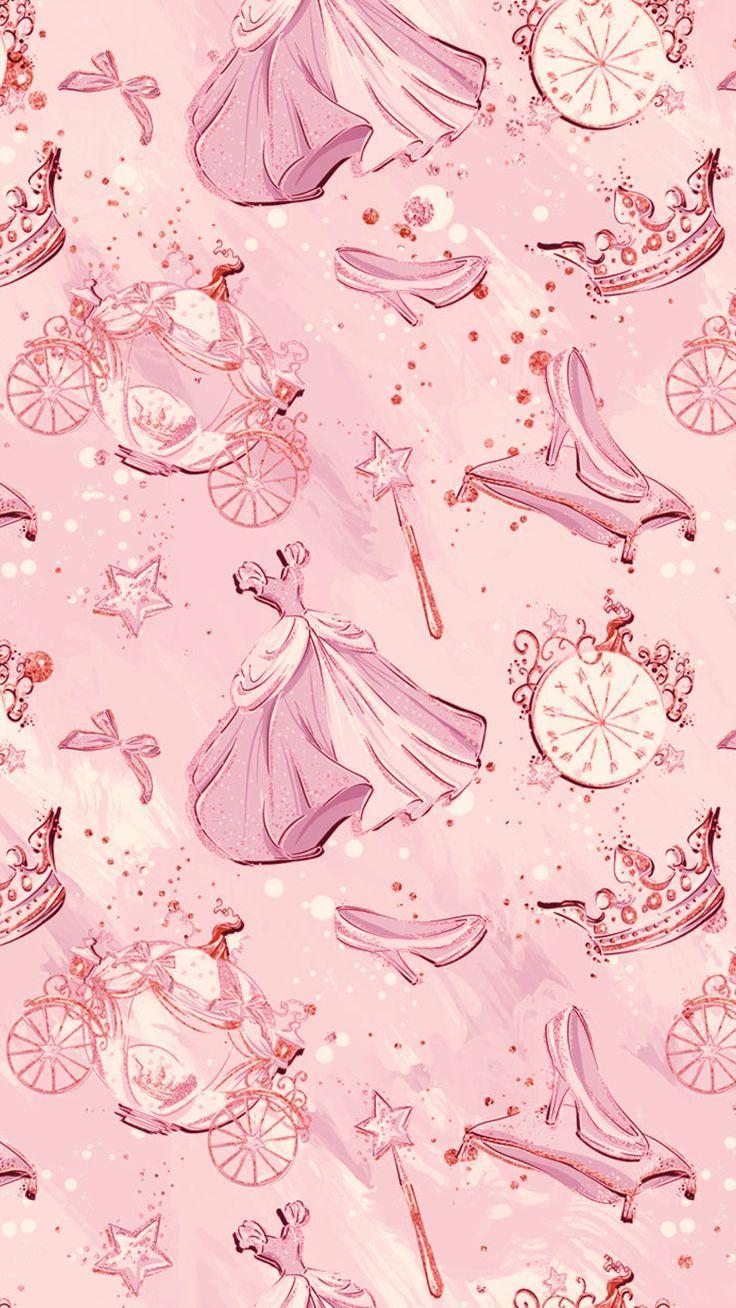 Pink Cinderella Disney S Izobrazheniyami Disneevskie Temy