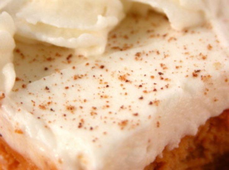 Pumpkin Cheesecake Bars | FOODIE | Pinterest