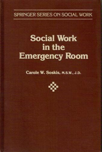 Social Work in the Emergency Room (Springer Series on Social Work) by Carole Soskis, http://www.amazon.com/dp/0826144101/ref=cm_sw_r_pi_dp_lPNzsb1XF2ZCB