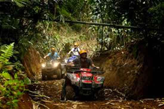 Bali ATV Ride and Uluwatu Sunset Tour