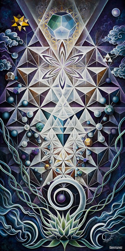 Wow - I love this!  Sacred Mirror by Krystleyez / Sacred Geometry <3                                                                                                                                                                                 More