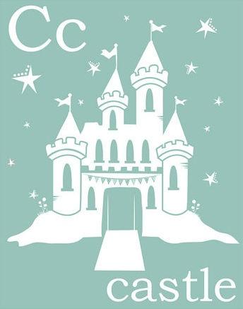 blue castle nursery - Blue Castle Decor