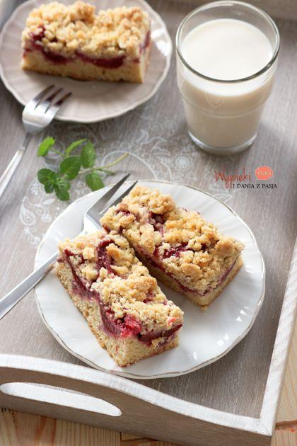 Ciasto ze śliwkami i kruszonką, najlepsze! / plum crumble cake, best ever!