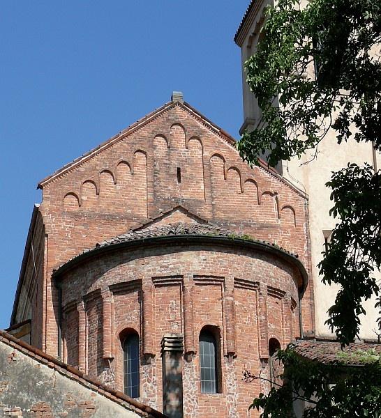 Gonzaga, Chiesa di San Benedetto Abate #Mantova #Mantua #Italia #Italy #colline #moreniche #hills #morainic