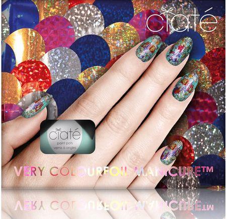 Ciaté Colourfoil Manicure Kaleidoscopic Klash Limited Edition fra BliVakker. Om denne nettbutikken: http://nettbutikknytt.no/blivakker-no/