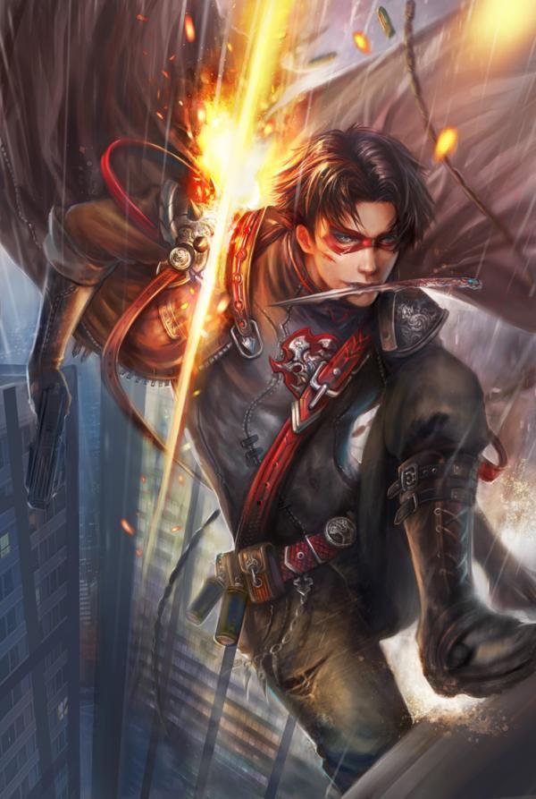 Jason todd ongoing petition - Digital Art by Yang Fan