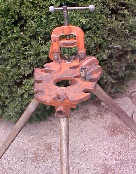 Nye Pipe Vise Amp Bending Stand No 88 Antique Work Bench