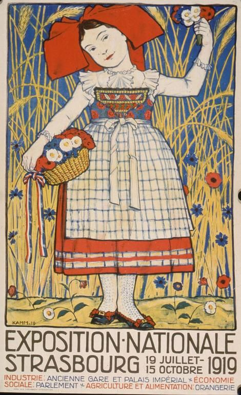KAmm Exposition nationale Strasbourg, 19 juillet au 15 octobre 1919