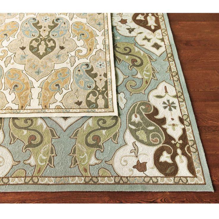 Livonia indoor outdoor rug design pinterest indoor for Ballard designs kitchen rugs