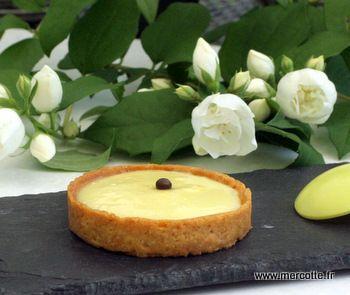 Tarte au citron simple Mercotte