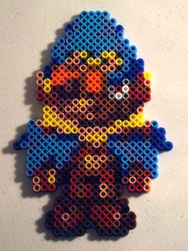 Super Mario RPG Geno Perler Art by kamikazekeeg