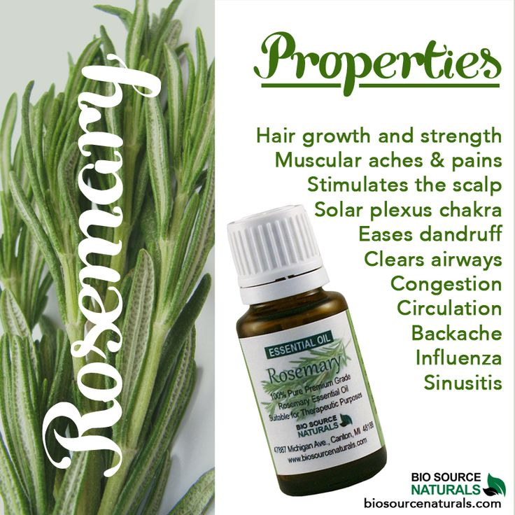 Rosemary essential oil properties #aromatherapy