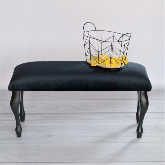 Glamour 80 X 30 Cm Bedside Gepolsterte Sitzbank Sitzbank Furniture Home Decor Decor