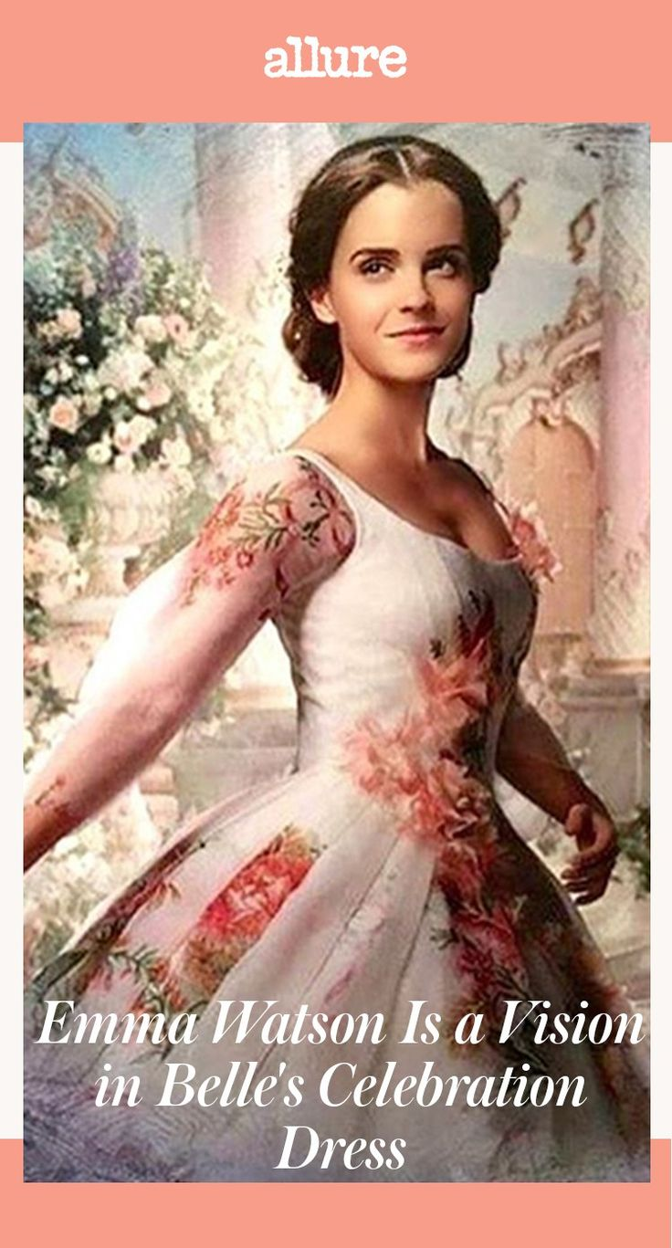 Here's Your First Look at Emma Watson in Belle's Celebration Dress I would love to be able to find a pattern and the fabric, or similar fabric for this dress!!!!!!!