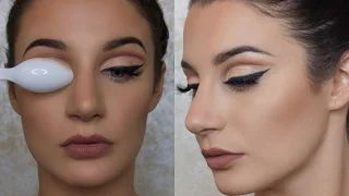 makeup with spoon - YouTube