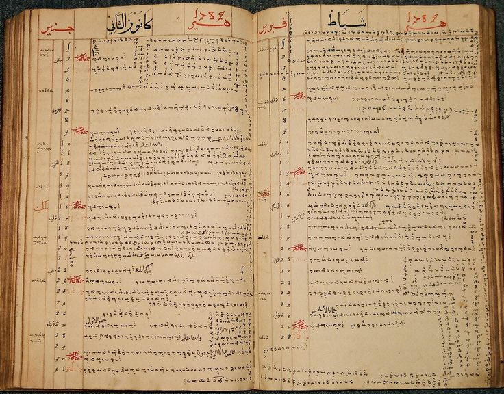 Bugis diary of Sultan Ahmad al-Salih of Bone, showing the entries for January and February 1789. British Library