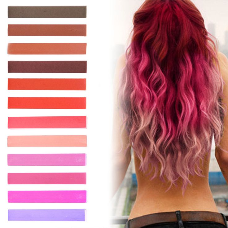 red tint hair color