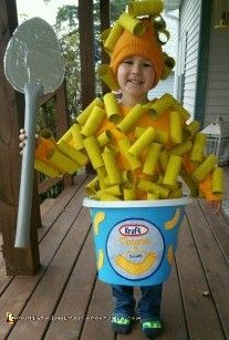 Delicious Homemade Mac N Cheese Costume
