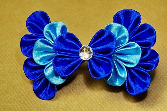 Check out this item in my Etsy shop https://www.etsy.com/listing/551180716/blue-bow-hairclip