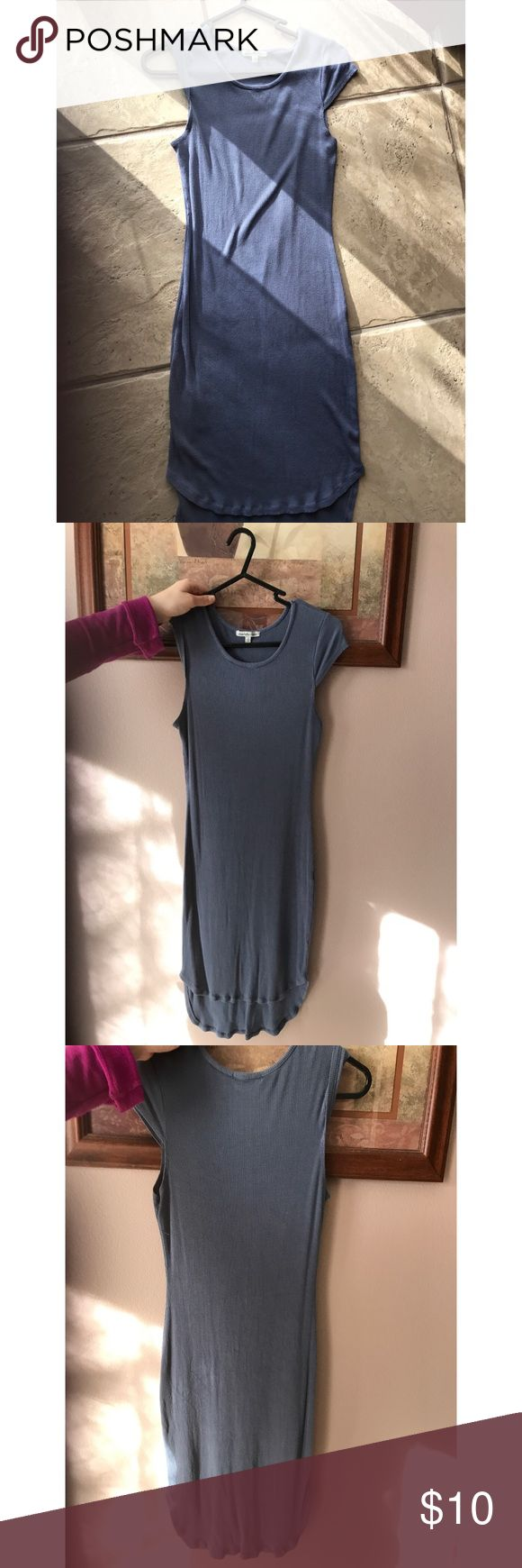 Bodycon dress Very sexy casual bodycon dress. Form fitting and very flattering. Only owned for about a year. Light fading, but still in great shape. Charlotte Russe Dresses Mini #bodycondresscasual