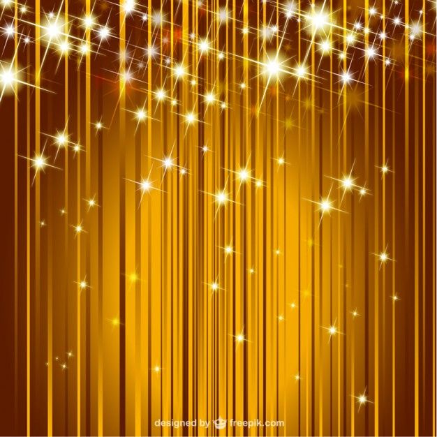 Vector sparkle golden background