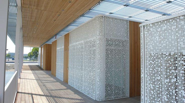 gallery of moucharabieh new school y architectes. Black Bedroom Furniture Sets. Home Design Ideas