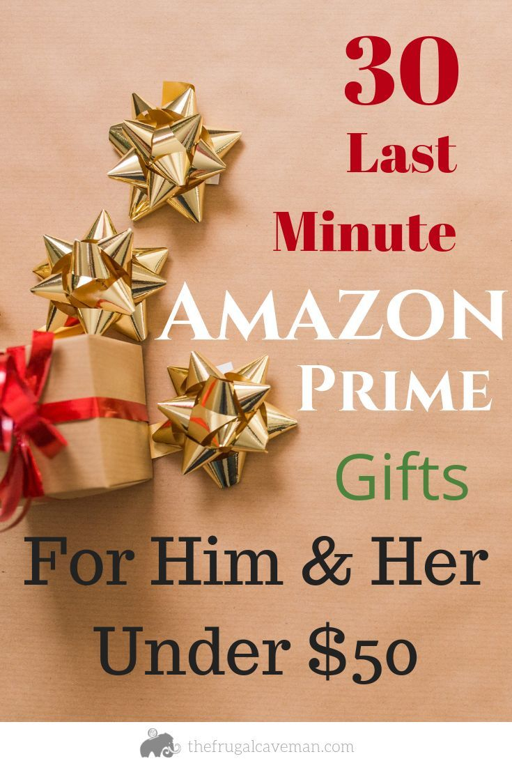 30 Last Minute Gift Ideas for Him and Her Amazon