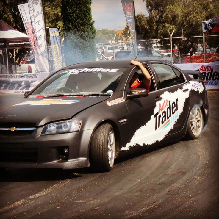 Stand a chance to win a suicide ride in our #Chev #Lumina #V6 #SS! Post or tweet pics of the action at @AutoTraderSA stand to be entered into the draw! — at Rand Easter Show.