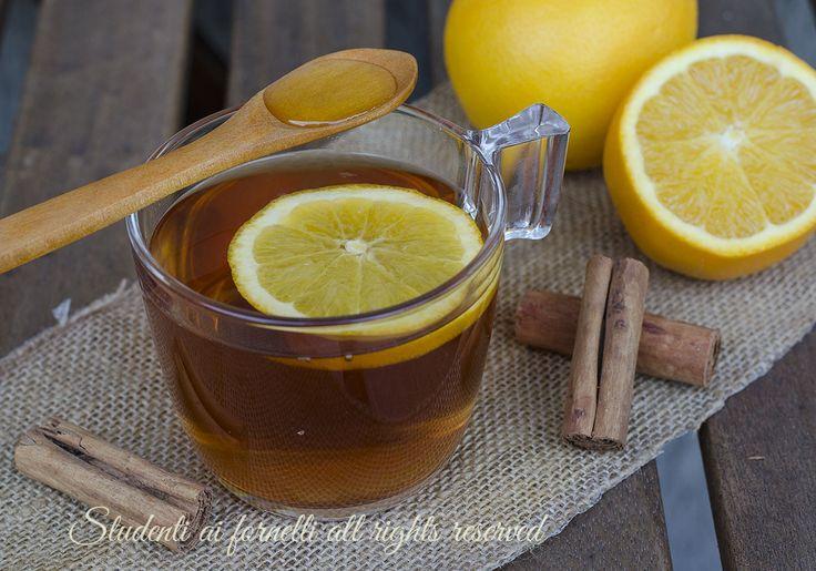 Tisana arancia miele e cannella per favorire il sistema immunitario ricetta tisana facile e veloce