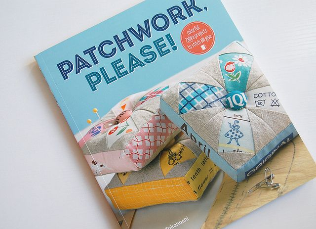 Patchwork Please Book came in the mail! by ayumills, via Flickr