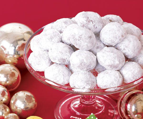 Cocoa Wedding Cakes  #christmas #holiday #cookies