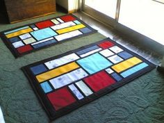 Como fazer tapete de retalhos 03