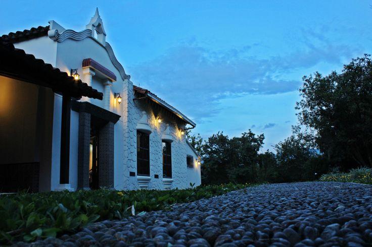 Parte trasera de nuestra Casa Museo Ditaires, Patrimonio  histórico  de Itagûì
