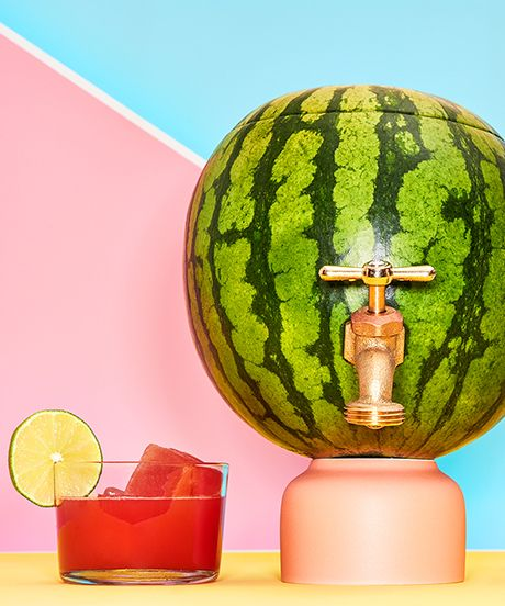 How To Make A Mojito-Filled Watermelon Keg