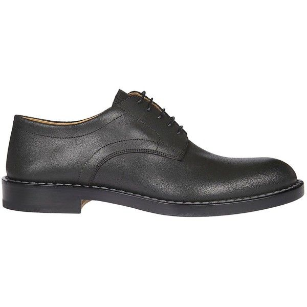 Classic Derby Shoes (7.460 ARS) ❤ liked on Polyvore featuring men's fashion, men's shoes, men's oxfords, black, mens black lace up shoes, mens black shoes, mens leather sole shoes, mens derby shoes and men's blucher shoes