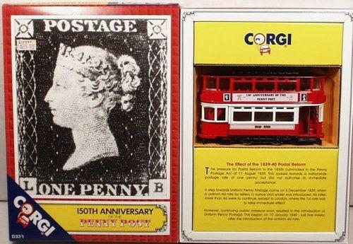 Corgi No D37 1 'Penny 150th Anniversary' Tram C7 | eBay