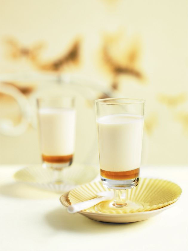 Honey and buttermilk panna cotta