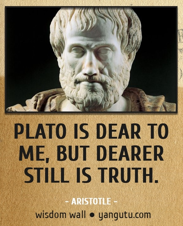 A description of aristotle statement all men by nature desire knowledge
