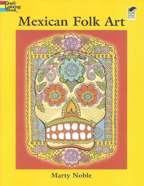 Gallery.ru / Photo # 1 - Mexikanische Volkskunst Coloring Book - galkin36