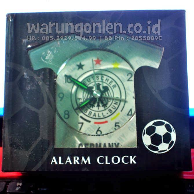 Jam Weker Alarm model Seragam Bola - A0013