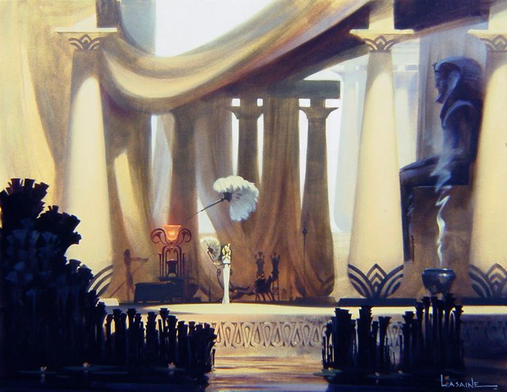 The Prince of Egypt concept art.