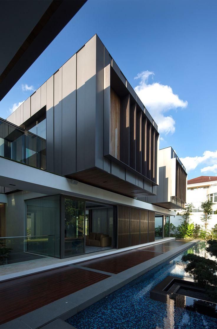 Pin by N g u y e n D u o n g on T r o p i c a l M o d e r n A r c h i t e c  t u r e | Pinterest | Tropical houses, Condominium and Exterior design