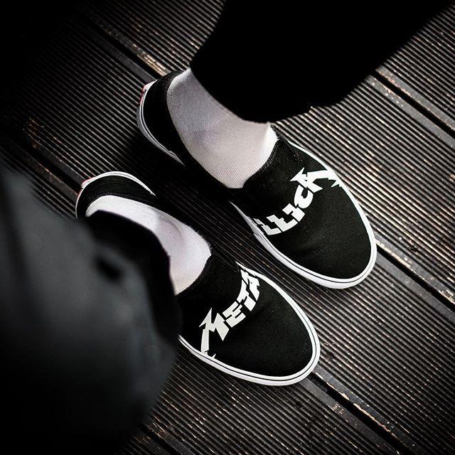 VANS X METALLICA CLASSIC SLIP-ON 8000 -  @sneakers76 store  online ( link in bio ) #vans #metallica #vansxmetallica #slipon  #classic  @vans @vans_europe @metallica  ITA - EU free shipping over  50  ASIA - USA TAX FREE  ship  29  photo credit #sneakers76 #teamsneakers76 #sneakers76hq #instashoes #instakicks #sneakers #sneaker #sneakerhead #sneakershead #solecollector #soleonfire #nicekicks #igsneakerscommunity #sneakerfreak #sneakerporn #sneakerholic #instagood